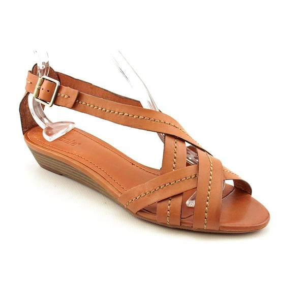 Nicole Women's 'Nosey' Leather Sandals (Size 8.5)
