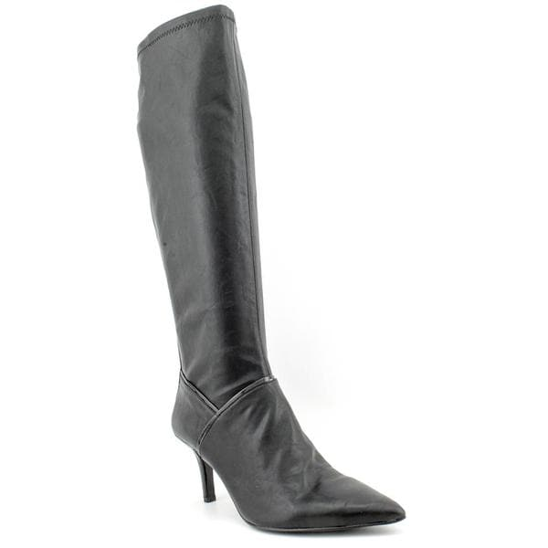 fd58eb334960 Shop Nine West Women s  Alice Eve  Faux Leather Boots - Free ...
