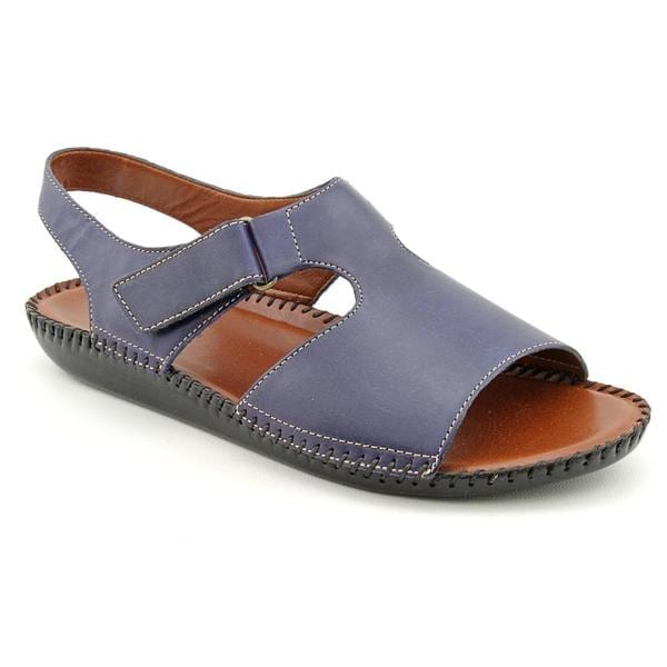 Auditions Women's 'Sprite' Leather Sandals (Size 9.5)