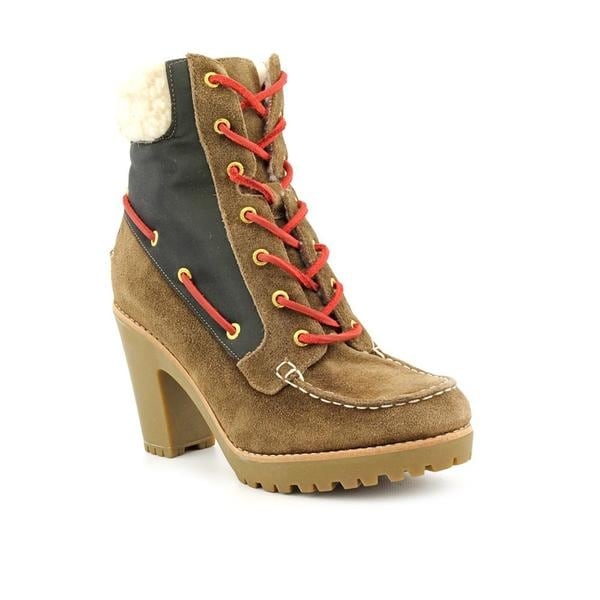 Sperry Top Sider Women's 'Trinity' Regular Suede Boots (Size 8)