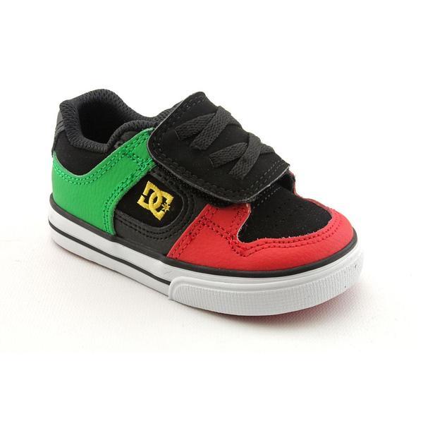 DC Boy's 'Pure V' Nubuck Athletic Shoe - Wide (Size 9)