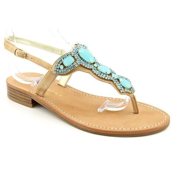 ba9b40546b7d Shop Ivanka Trump Women s  Vance  Leather Sandals - Free Shipping ...