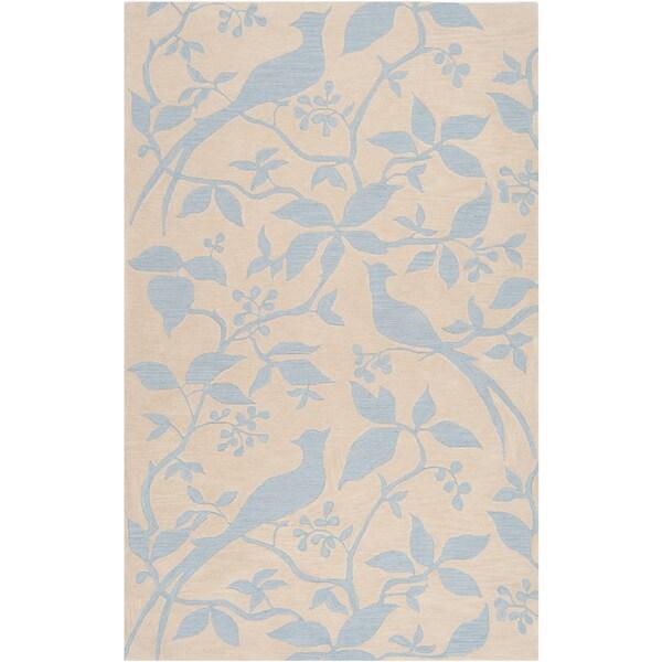 Hand-tufted Vaterloo Sky Blue Rug (3'3 x 5'3)