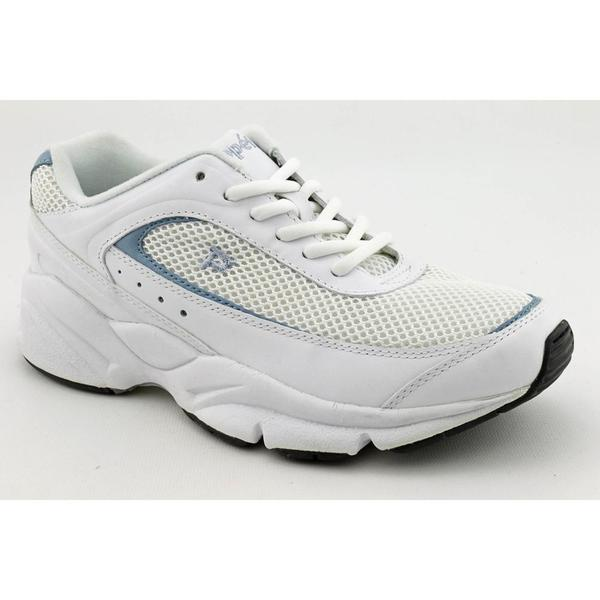 Propet Women's 'Pace Walker' Leather Athletic Shoe - Wide (Size 7)