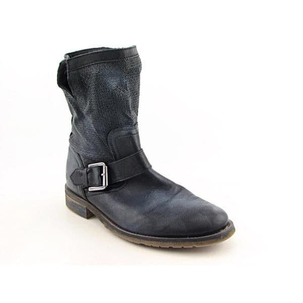 Bronx Women's 'De Tour' Distressed Leather Boots (Size 9)