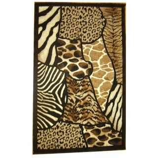 Generations Abstract Skins 70 Rug (3'9 x 5'1)