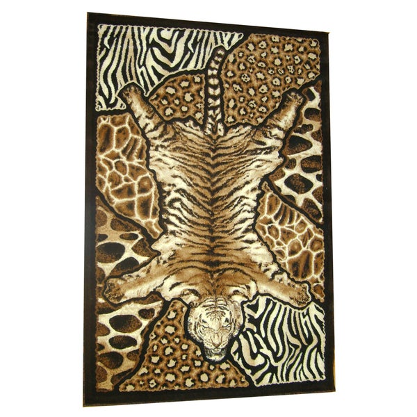 Generations Abstract Skins 72 Rug (7'9 x 10'5)