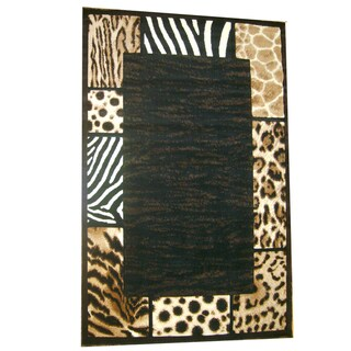 Generations Abstract Skins 73 Rug (7'9 x 10'5)