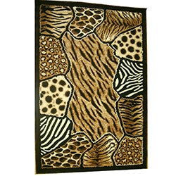 Generations Abstract Skins 74 Rug (3'9 x 5'1)