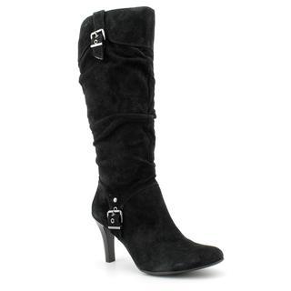 White Mountain Women's 'Golly' Nubuck Boots
