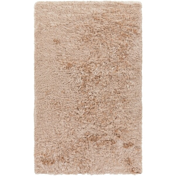 Hand-woven Charade Beige Area Rug - 5' x 8'