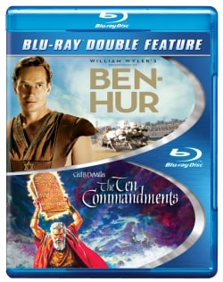 Ben-Hur/Ten Commandments (Blu-ray Disc)