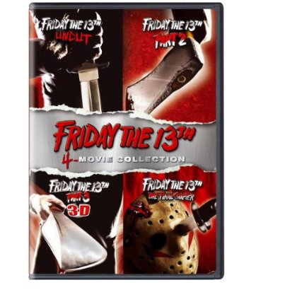 Friday The 13th 1-4 (DVD)