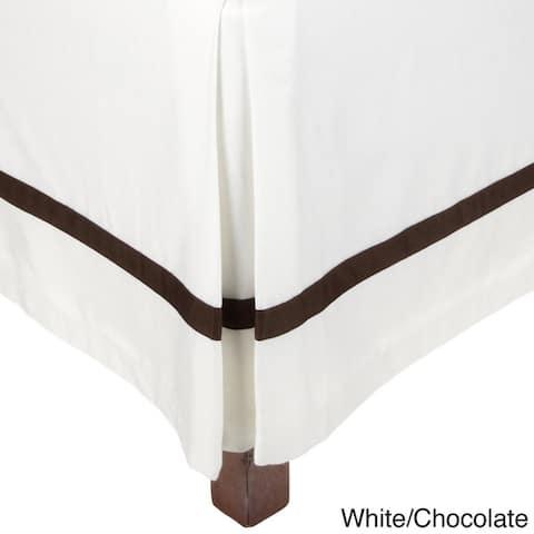Miranda Haus Hotel 300 Thread Count Cotton 15-inch Drop Bed Skirt