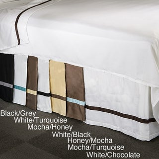 Superior Hotel Collection 15-inch Drop 3-side Bedskirt
