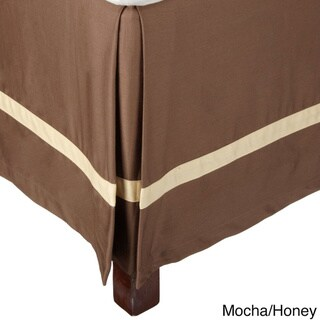Superior Hotel Collection 300 Thread Count Cotton 15-inch Drop Bedskirt