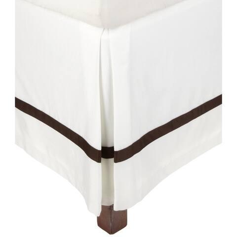 Miranda HausHotel Collection 300 Thread Count Cotton 15-inch Drop Bedskirt