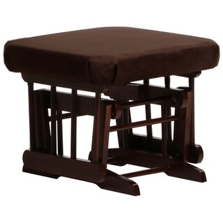 Dutailier Coffee/ Chocolate Ottoman for Sleigh and Colonial Gliders