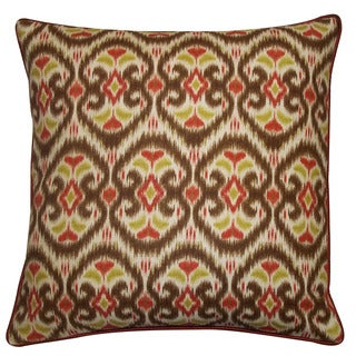 Jiti Bali Tan 20-inch Decorative Pillow