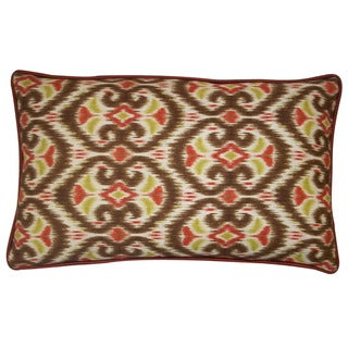 Jiti Bali Tan 12 x 20-inch Decorative Down Pillow