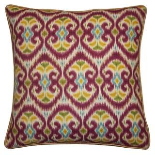 Jiti Bali Red 20-inch Decorative Pillow