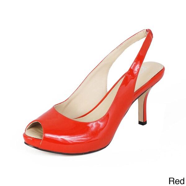 Andrew Stevens Women's 'Francesca' Slingback Sandals