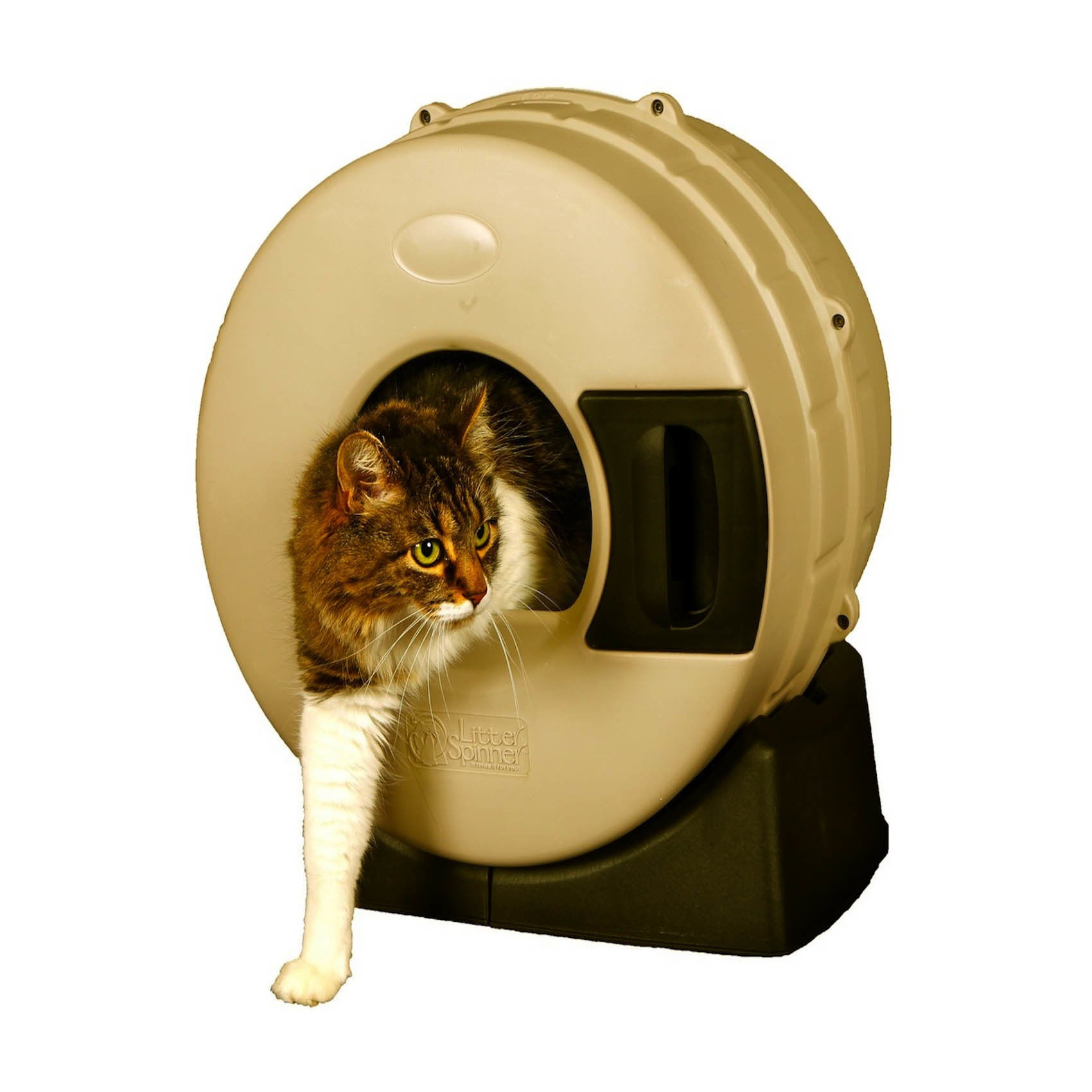 Litter Spinner Cat Litter Box (Green)