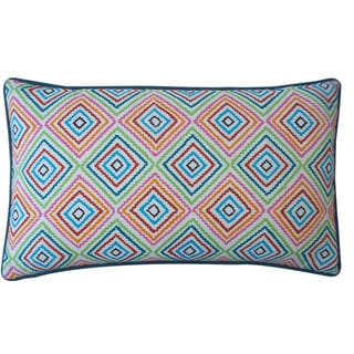 "Link to Handmade Square Blue Pillow - 12"" x 20"" Similar Items in Decorative Accessories"
