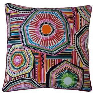Jiti 'Native' Multicolored 20-inch Pillow