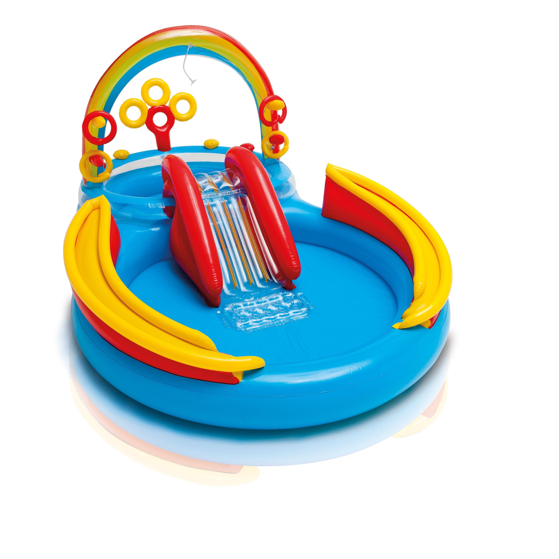Intex Recreation Rainbow Ring Inflatable Play Center (Rai...