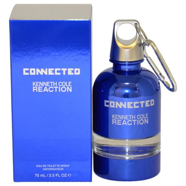Kenneth Cole Reaction Connected Men's 2.5-ounce Eau de Toilette Spray