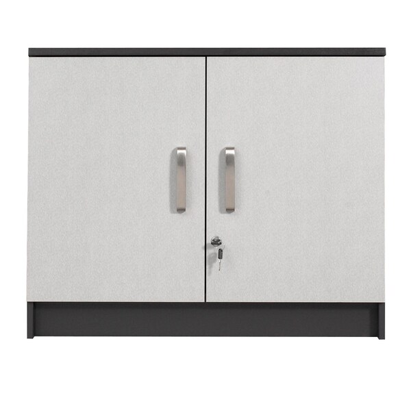 Talon Garage Charcoal Stipple 2-door Wall Cabinet