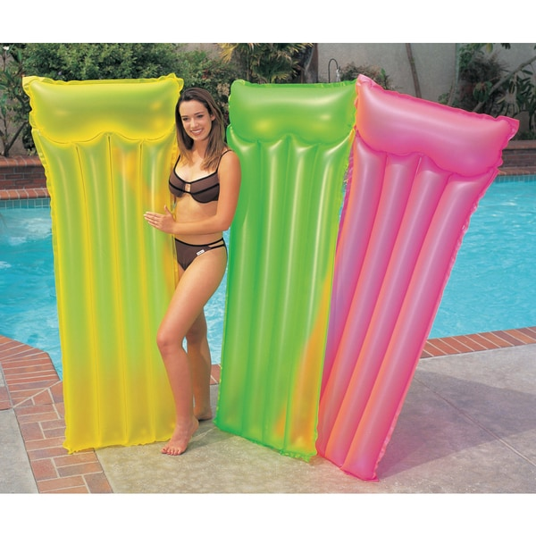 Intex Neon Frost Inflatable Lounging Mat
