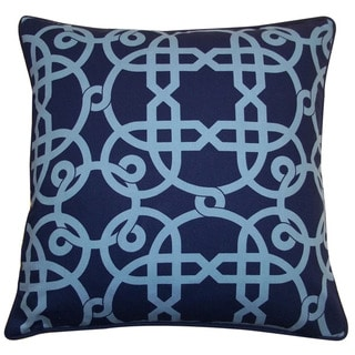 "Link to Handmade Web Blue Pillow - 20"" x 20"" Similar Items in Decorative Accessories"