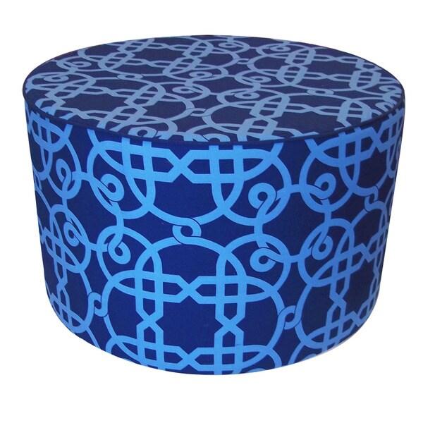 Jiti 'California' Blue 24-inch x 15-inch Pillow