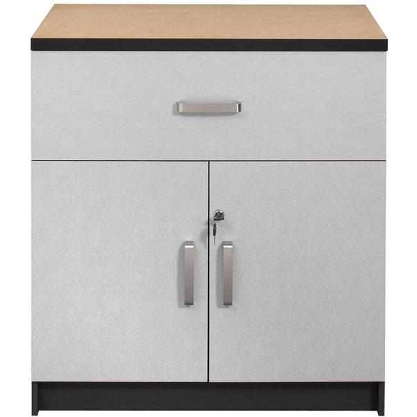 Talon Garage 1-Drawer 2-Door Charcoal Stipple Base Cabinet