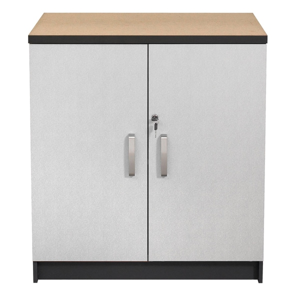 Talon Garage 2-Door Charcoal Stipple Base Cabinet