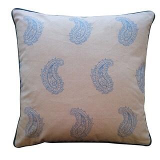 Jiti 'Anglea' Blue 20-inch Pillow