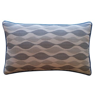 Jiti 'Dylan' Grey 12-inch x 20-inch Pillow