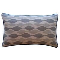 Jiti 'Dylan' Grey 12-inch x 20-inch Pillow - 12 x 20