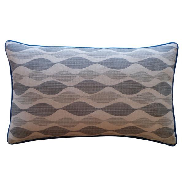 """Handmade Dylan Gray Pillow - 12"""" x 20"""""""