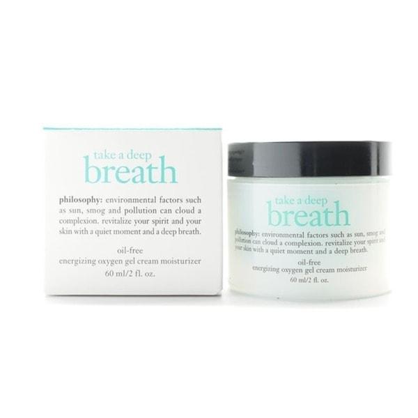 Philosophy Take a Deep Breath Energizing Oxygen Gel Cream Moisturizer