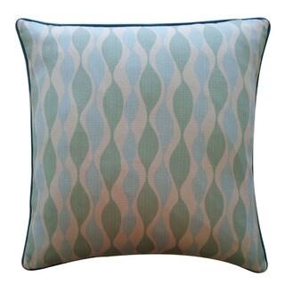Jiti 'Dylan' Aqua 20-inch Pillow