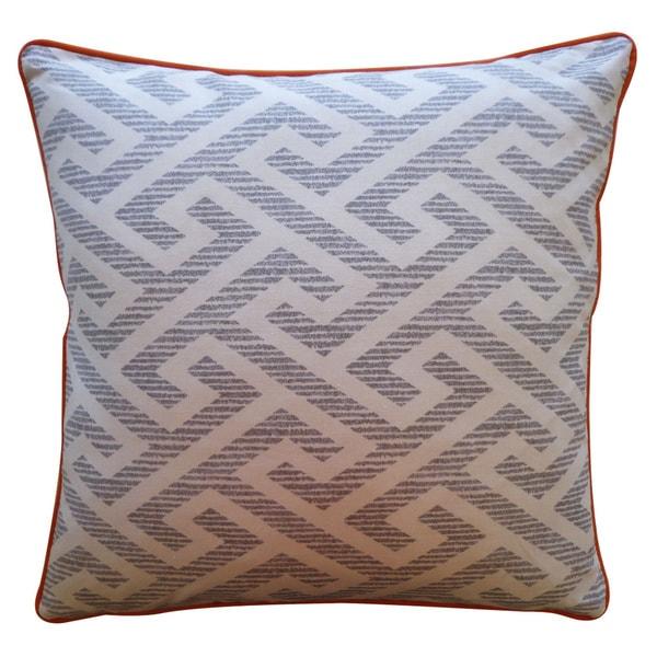 "Handmade Kyle Gray Pillow - 20"" x 20"""