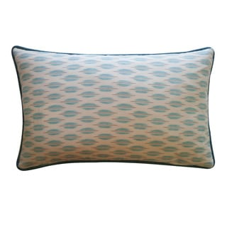 "Link to Handmade Arrow Aqua Down Pillow - 12"" x 20"" Similar Items in Decorative Accessories"