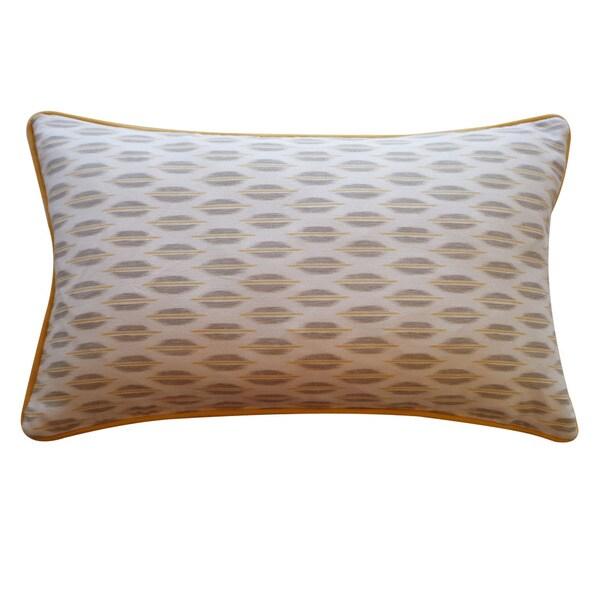 Jiti 'Arrow' Grey 12 x 20-inch Down Pillow