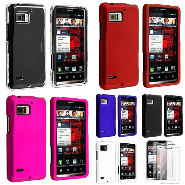 BasAcc Cases/ Screen Protector for Motorola Droid Bionic XT875