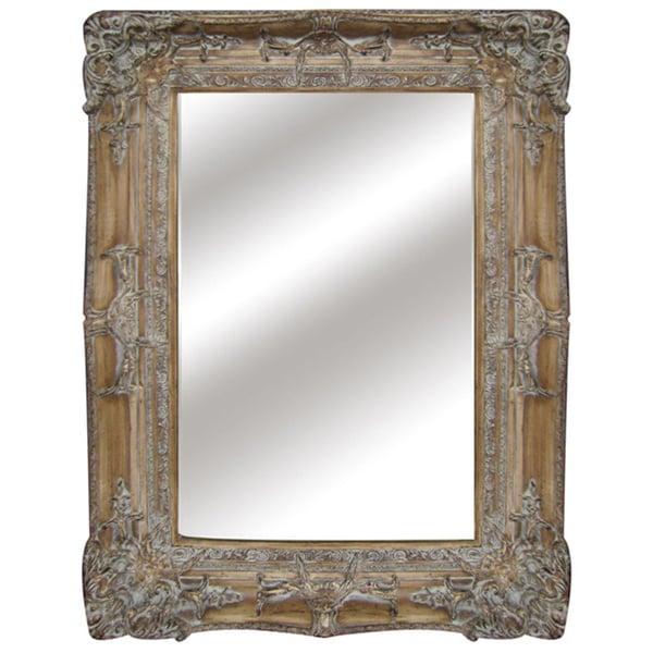 Shop 30 In Antique Wall Mirror Antique Brown N A