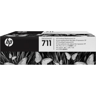 HP 711 Original Printhead - Pigment Black, Cyan, Magenta, Yellow