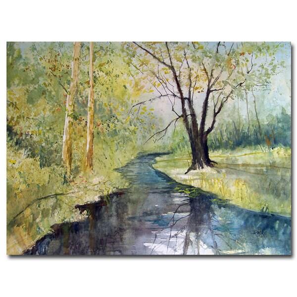 Ryan Radke 'Covered Bridge Park I' Canvas Art